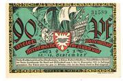 90 Pfennig (Kieler Herbstwoche für Kunst und Wissenschaft) – obverse