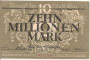 10,000,000 Mark – obverse