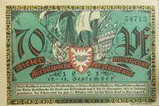 70 Pfennig (Kieler Herbstwoche für Kunst und Wissenschaft) – obverse