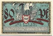 80 Pfennig (Kieler Herbstwoche für Kunst und Wissenschaft) – obverse