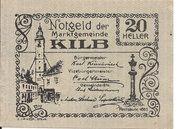 20 Heller (Kilb) – obverse