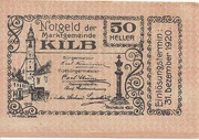 50 Heller (Kilb) – obverse