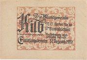 50 Heller (Kilb) -  reverse