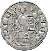 ½ Gros - Henry II (first reign) – obverse