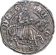 Gros - James II – obverse