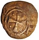 Denier - Henry II (Second reign) – reverse
