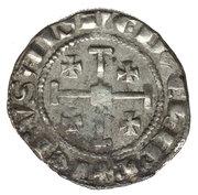 1 Gros - Hugh IV – reverse