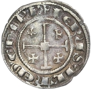 ½ Gros - Henry II (second reign) – reverse