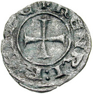 Denier - Henry II (second reign) – obverse