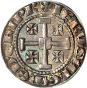 1 Gros - Henry II (second reign) – reverse