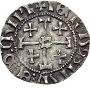 1 Gros - John II – reverse