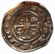 ½ Gros - Hugh IV (no field marks) – reverse