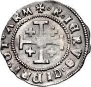 ½ Gros - James II – reverse