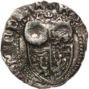 1 Gros - Catherine Cornaro and James II – obverse