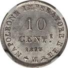 10 Centesimi - Napoleon I – reverse