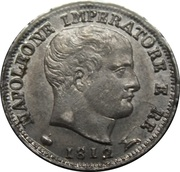 5 Soldi - Napoleon I – obverse