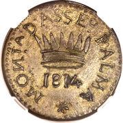 50 Centesimi - Palma Nova - Siege coinage – reverse