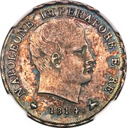 15 Soldi - Napoleon I – obverse