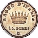 15 Soldi - Napoleon I – reverse