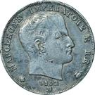 1 Lira - Napoleon – obverse