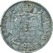 1 Lira - Napoleon – reverse