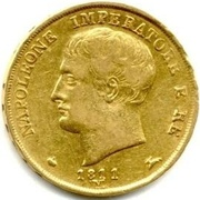 20 Lire - Napoleon I – obverse