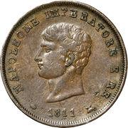 3 Centesimi - Napoleon I – obverse