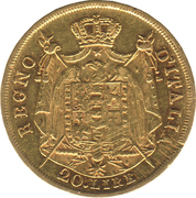 20 Lire - Napoleon I -  reverse