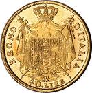 40 Lire - Napoleon I – reverse