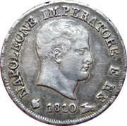 10 Soldi - Napoléon – obverse