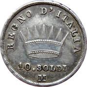 10 Soldi - Napoleon I – reverse