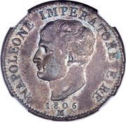 1 Soldo - Napoleon I (Pattern strike) – obverse