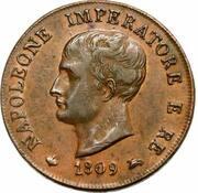 1 Soldo -  Napoleon I (type 1) – obverse