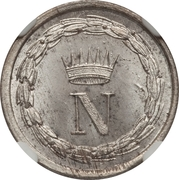 10 Centesimi - Napoleon I – obverse