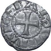 Denier - Baldwin III (Tower of David -  crude type) – obverse