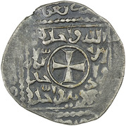 Dirham - Anonymous (Crusader imitation) – obverse