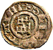 Obole à la Tour de David Baudouin II serie Fine – reverse