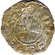 Denier - John I of Brienne (1th type) – obverse