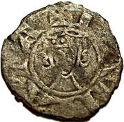 Denier - John I of Brienne (1th type) – reverse
