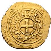 "Bezant ""Saracen"" - Anonymous  (Crusader imitation - 3th type - Acre) – reverse"