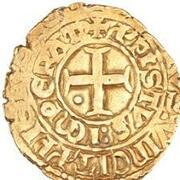 "Bezant ""Saracen"" - Anonymous (Crusader imitation - 4th type Agnus Dei - Acre) – reverse"