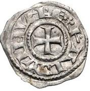 Obol - Baldwin III (Tower of David - honed type) – obverse