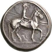 Tetradrachm - Alexander I – obverse