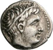 Hemidrachm - Philip II ( Pella) – obverse