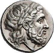 Tetradrachm - Philip II (Pella) – obverse