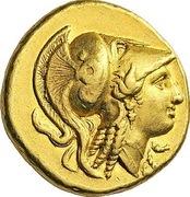 Distater - Alexander III (Amphipolis) – obverse