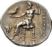Tetradrachm - Alexander III (Memphis) – reverse