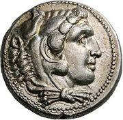 Tetradrachm - Alexander III (Damascus) – obverse