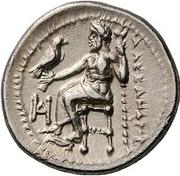 Drachm - Alexander III (Miletos) – reverse
