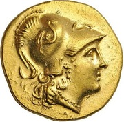 Stater - Alexander III (Kallatis) – obverse